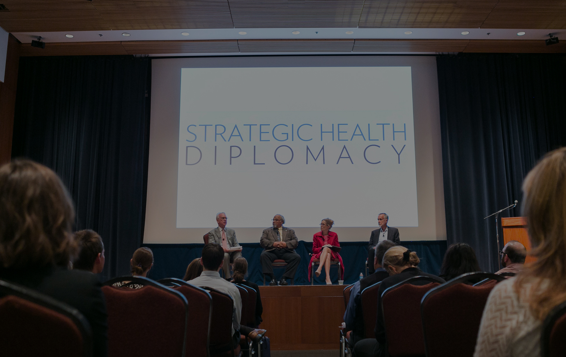 Watch the Conference on Strategic Health Diplomacy